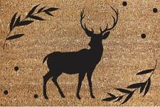 New 40x60cm Stag Design Welcome Door Mat House Home Heavy Duty Carpet Rug Garden