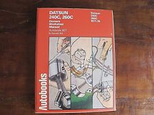 Datson 240C 260C Owners Workshop Manual