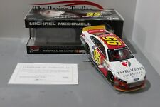 2015 Michael McDowell Thrivent Financial 1:24 Nascar Diecast Autographed