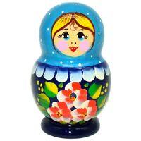 Poupee russe Magnet aimant en bois peint Artisanat Russe deco cuisine Magnet
