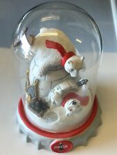 Franklin Mint Coca Cola Polar Bears Ice Cold Fun Lt