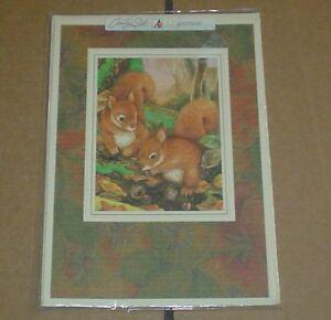 Lovely Squirrel Birthday Card