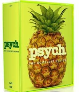 Psych The Complete Series DVD, Seasons 1,2,3,4,5,6,7,8