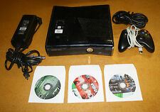 XBOX 360 S CONSOLE 250GB BUNDLE W/ 3 GAMES FREE SHIPPING