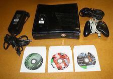 XBOX 360 S CONSOLE 250GB BUNDLE W/ 3 GAMES FREE SHIPPING