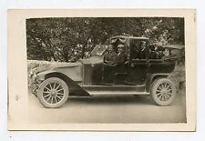 Carte-photo . Ancienne automobile . Voiture . LOURDES. Maison Bergeret. Old car