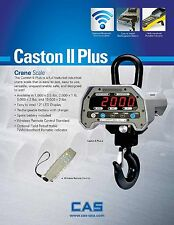 CAS Caston II Plus Series Scale 10K capacity-2 year Warranty- Live Support