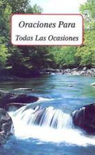 Oraciones para Todas las Ocasiones by Francis Evans (1993, Paperback)