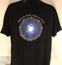 Vintage Head For The Gate Movie Stargate Sci-Fi Promo Hanes Men's L T-Shirt