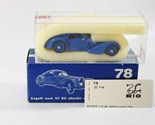 Rio Nr°78 Bugatti Mod 57 Sc Atlantic Coupé 1938 1/43 Neu IN Schachtel / Boxed