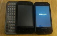 2 x Samsung Transform Android Sprint Phone BLACK SPH-M920 Qwerty Slide Keyboard