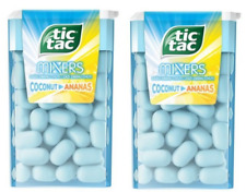 Tic Tac 18g Mixers Coconut Pineapple - 2 Boxes - FREE WORLDWIDE DELIVERY