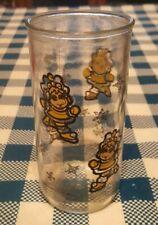 1989 Miss Piggy Muppet Babies Glass Ice Skating