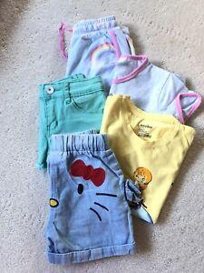 Girls Summer Clothes Size 4, Incl, Peter Alexander Pj , Zara , Babygap & Kitty