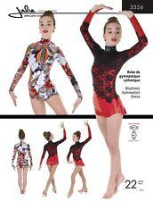 Jalie 3356 Long Sleeve Rhythmic Gymnastics Dress w/Attach Briefs Sewing Pattern