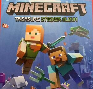 PANINI Minecraft Treaure 2021 stickers choose your sticker 1 - 128