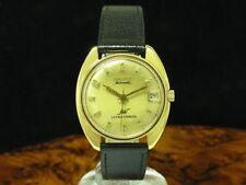 Longines Ultra Chron 10kt Gold Mantel Automatic Herrenuhr / Ref 2891-431