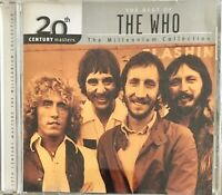 THE WHO THE BEST OF THE WHO 20th Century Masters The Millennium Collection GRT A