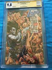 Lobo: Blazing Chains of Love #1 - DC - CGC SS 9.8 NM/MT - Signed by Dan Brereton