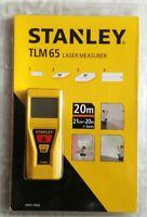 Stanley TLM65 20M (65-feet) Laser Distance Measurer STHT77032 (STHT-77032)