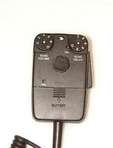 Workman DM1000 Powered Tornado Echo Mic for CB Ham Amateur Radio 4-Pin Superstar