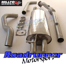 Milltek Golf MK4 Exhaust 1.8T Turbo Back System Non Res Inc De Cat Downpipe Disc
