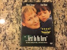 ...FIRST DO NO HARM VERY GOOD DVD 1997 FRED WARD, MERYL STREEP MADE FOR TV FILM!