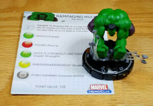 Rampaging Hulk #062 LE Mutations and Monsters Heroclix with card New Guy Night