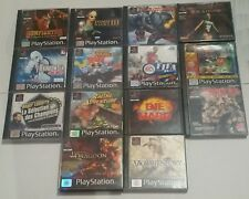 Playstation 1 PSX - Lot 14 Original Games - French Version - Resident Dragoon