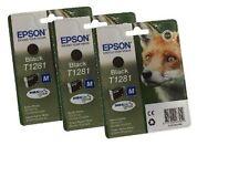 Epson T1281 Original Ink Cartridge - Black (Pack of 3)