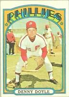 1972 Topps Baseball #768 SP Denny Doyle Philadelphia Phillies High Number Card