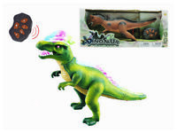 Remote Control RC T Rex Dinosaur Electronic Toy Action Figure Moving & Walking