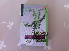 NEW Magic Short n' Long Cards Trick Deck Magic Tricks Easy Card Trick Set