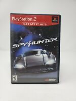 SpyHunter Greatest Hits PlayStation 2 PS2 Video Game