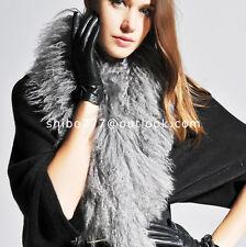 100% Real Sheep Fur Lamb Fur Vest Mongolian Fur Fashion Scarves - cappa shawl
