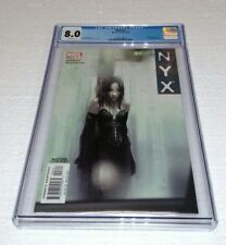 NYX #3 CGC 8.0 GRADED 1ST APPEARANCE OF X 23 LAURA KINNEY