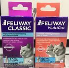 FELIWAY CLASSIC or MULTICAT 30 DAY REFILL FOR DIFFUSER 48 ML (PICK ONE)