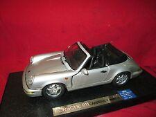 Rare Anson PORSCHE 911 Carrera  1/18 Scale Model silver