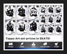 ART 15 CARD BASE SET-TOPPS SKATE 20 DIGITAL