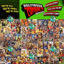 HOLLYWOOD ZOMBIES 2007 PICK-A-CARD BASE,FOIL,GLOW,BONUS,PROMO garbage pail kids