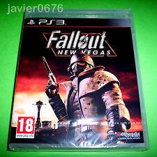 FALLOUT NEW VEGAS NUEVO Y PRECINTADO PAL ESPAÑA PLAYSTATION 3