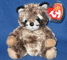 36f5c3934fe TY SNEAKS the RACOON BEANIE BABY - MINT with MINT TAGS