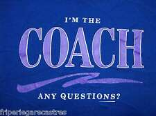 "Authentique SWEAT provenance USA ""I'm the COACH"", Taille M   (SWUS_025)"