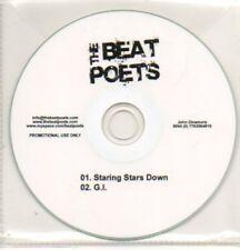 (13K) The Beat Poets, Staring Stars Down / G.I. - DJ CD