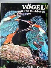 Vögel mit 108 Farbfotos 1976 Ornithologie