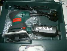 Metabo FSR200 Intec 240V 200W 1/4 Sheet Palm Sander in case NEW
