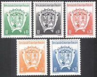 FSAT/TAAF 1992 Coat-of-Arms/Penguin/Heraldry 5v n30253