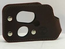 SHOOT THRU LEATHER POCKET HOLSTER FOR NAA GUARDIAN 32 ACP