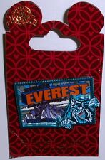 Disney Animal Kingdom Wdw Expedition Everest - Beware of the Yeti 3D Frame Pin