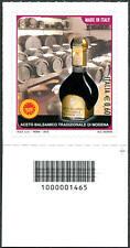 2012 francobollo Aceto Balsamico di Modena DX CODICE A BARRE 1465